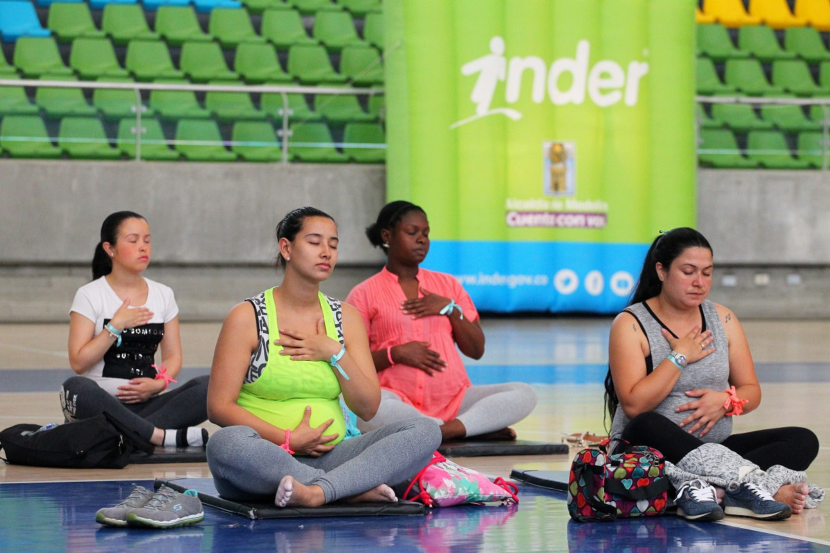 Madres Gestantes - Yoga